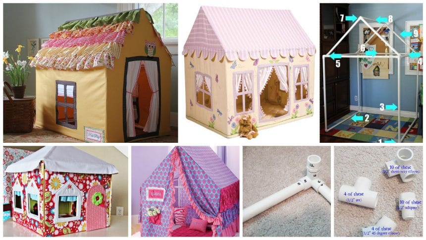 How to make a playhouse from PVC pipe