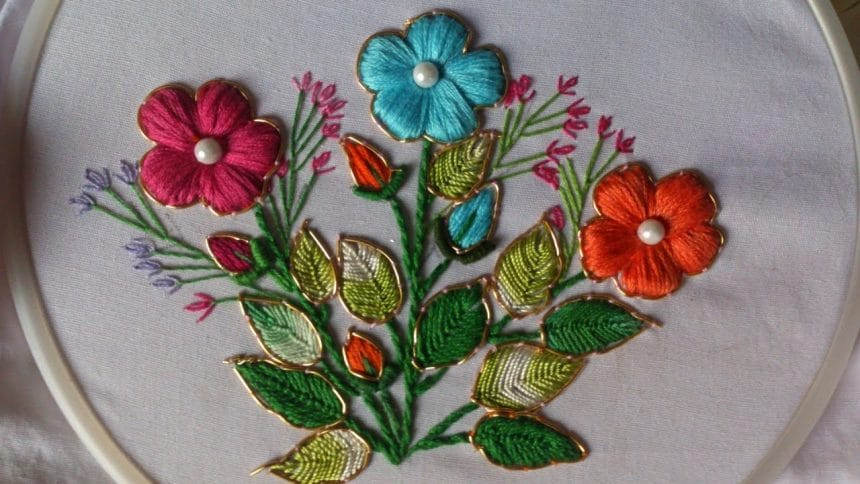How To Do Fancy Embroidery Stitches Simple Craft Ideas