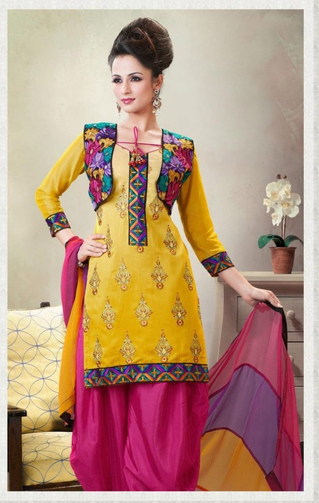 How To Design Anarkali At Home