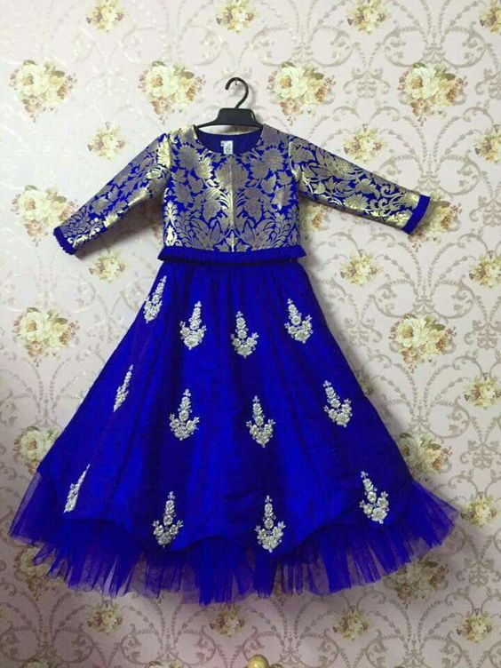 Different Types Of Kids Lehengas Simple Craft Ideas
