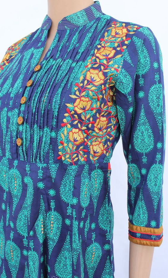Different Types Of Kurthi Neck Patterns Simple Craft Ideas