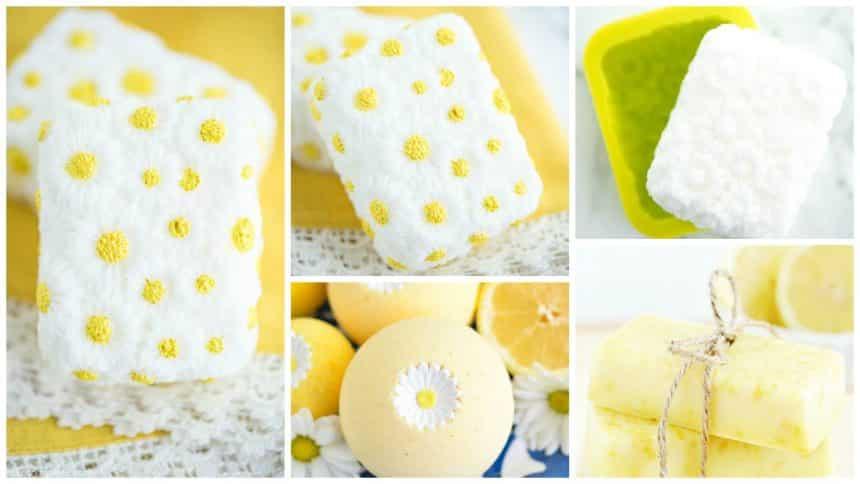 How to make vanilla chamomile soap