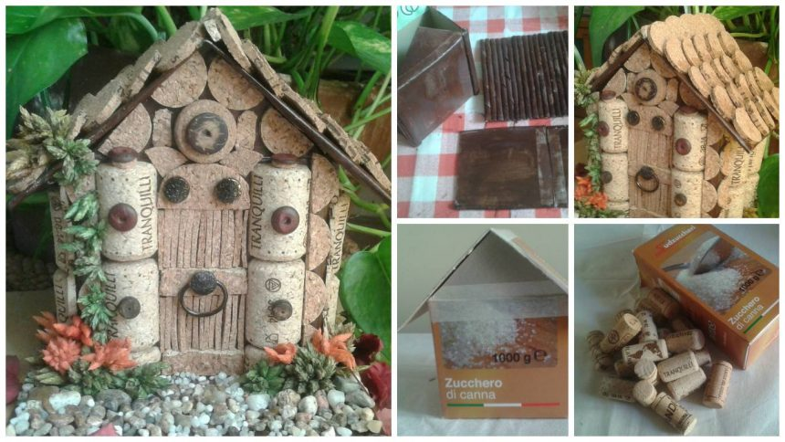 How to make home with corks