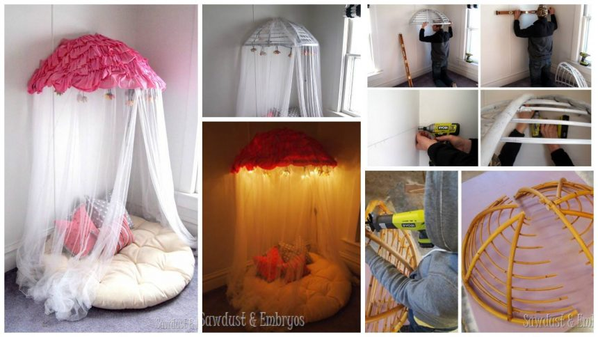 How to make reading nook for kids