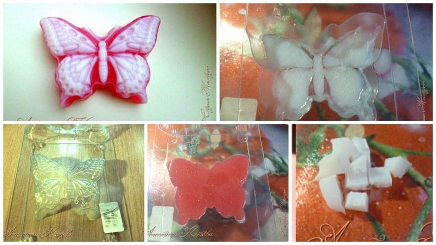 How to make butterfly soap