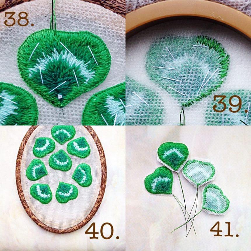 bulk embroidery stump work