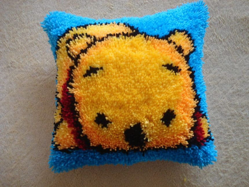 simple cozy pillow