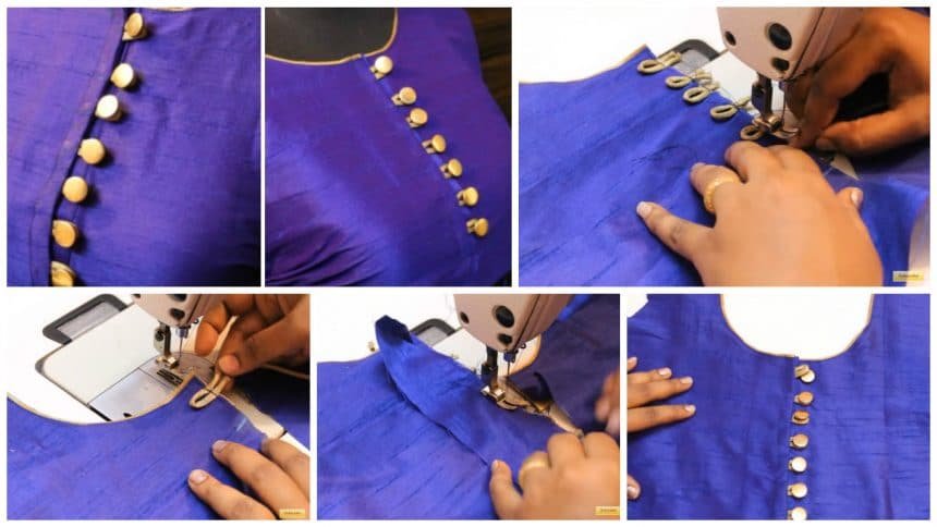 Button loops making