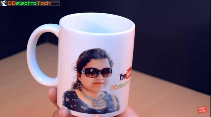 how to print your photo on coffee mug at home