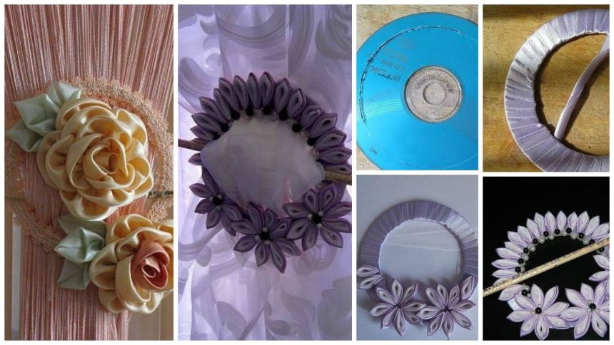 How to make tiebacks from old CD