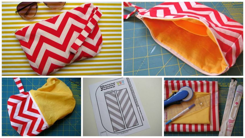 Tutorial for a little wristlet