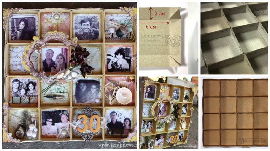 How to make a photo frame for gift