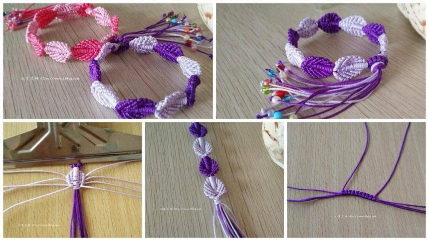 How to make macrame bracelets