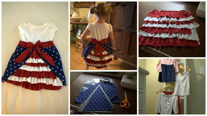 How to sew a bustle dress