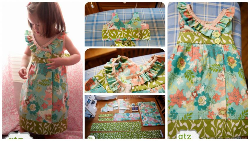 "How to sew a  ""Madelyn Dress"""