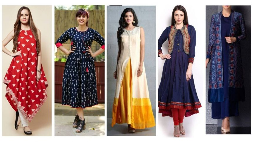 Enrich yourself with Latest Kurti collection online
