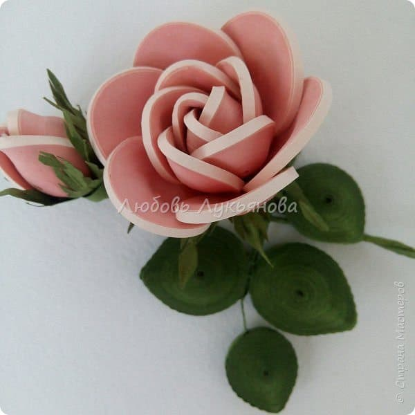 How to make a quilling rose simple craft ideas quilling rose mightylinksfo