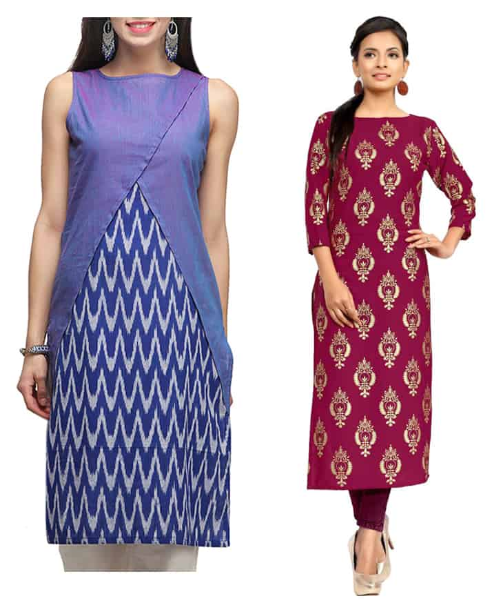 20 New kurti neck designs - Simple Craft Ideas