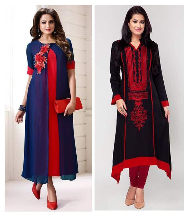 Best party wear kurtis for women