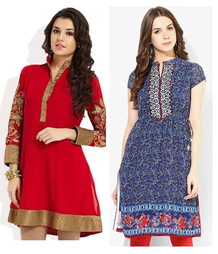 20 New Kurti Neck Designs Simple Craft Ideas