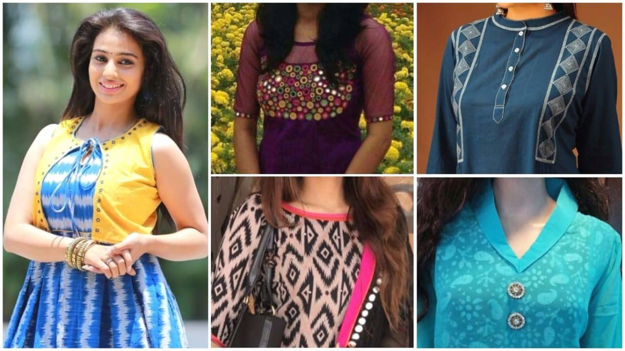 Different types of kurtis designs