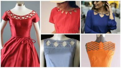 frock neck designs