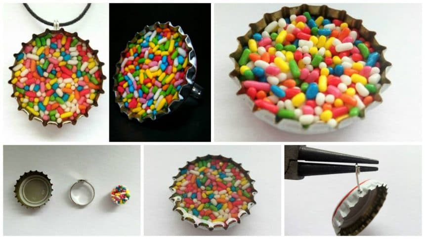 How to make sprinkles pendant