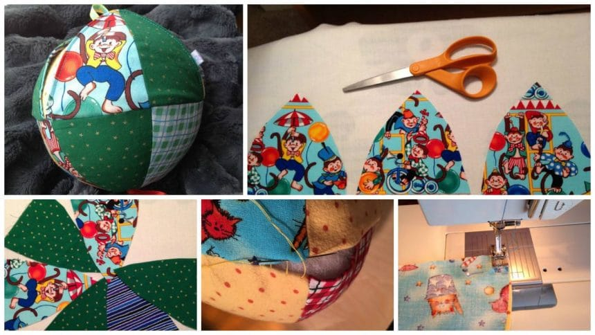 How to make peekaboo picture baby ball