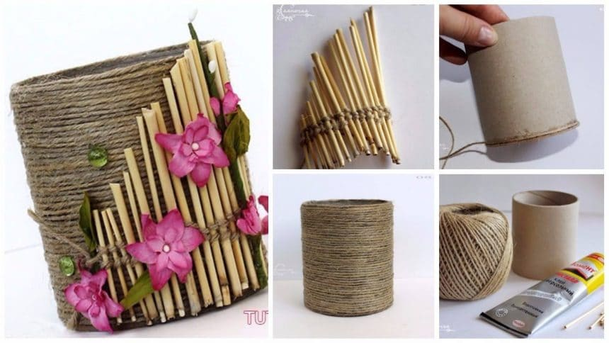 How to make pencil holder