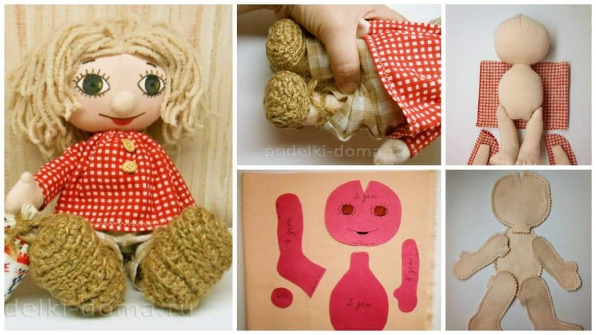 How to make a cloth doll