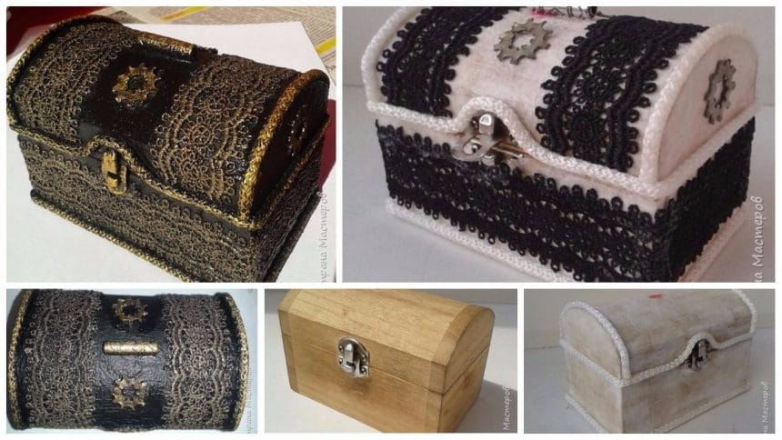 How to make under treasure chest