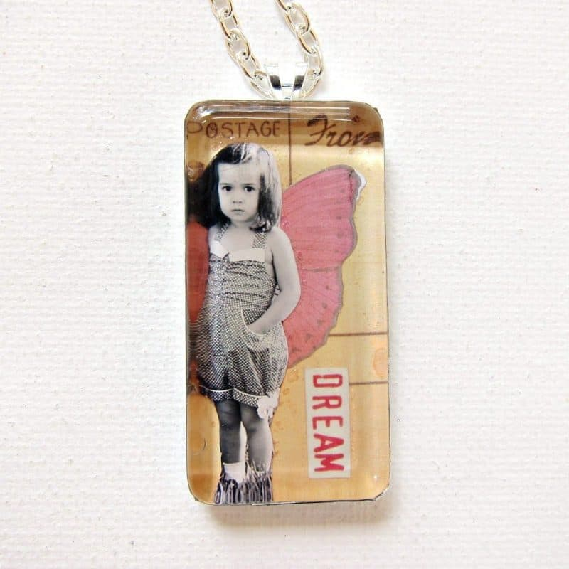a Photo Glass Pendant