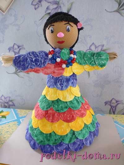 doll from plastic bottle