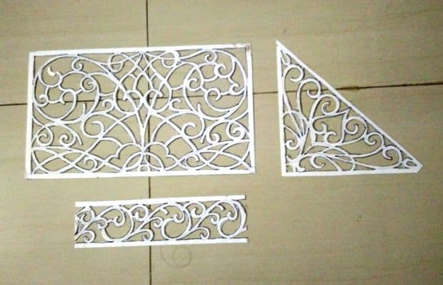How To Make Thermocol Decorative Temple Simple Craft Ideas