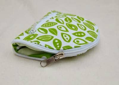 collapsible bag of beautiful fabrics