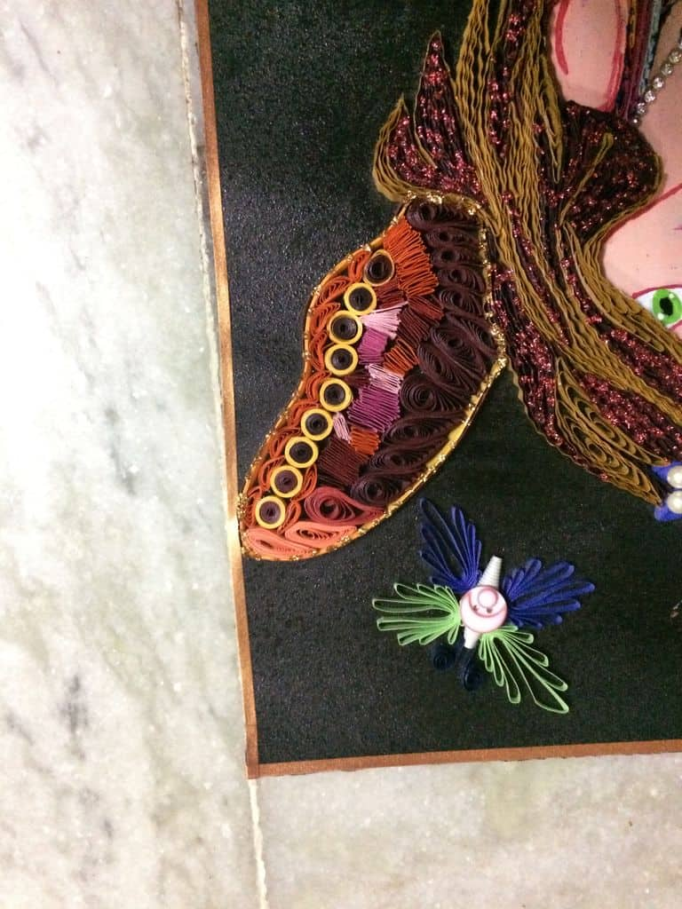 How To Make Quilled Fairy Wall Hanging Simple Craft Ideas