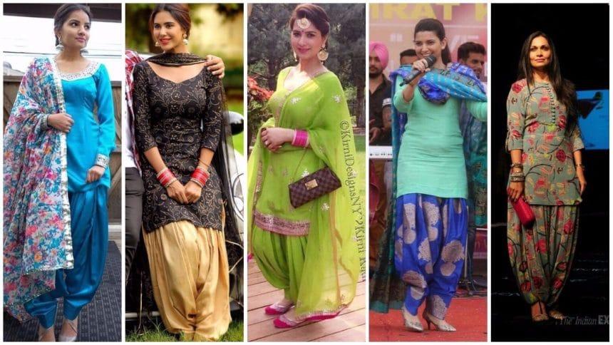 Different types of punjabi suit designs – Simple Craft Ideas