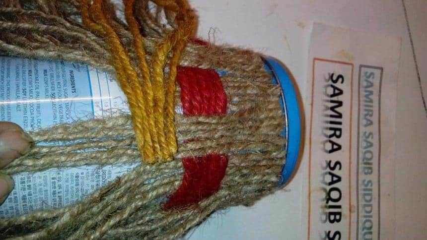 How To Make Jute Work Box Simple Craft Ideas
