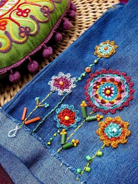 White Flower Embroidery