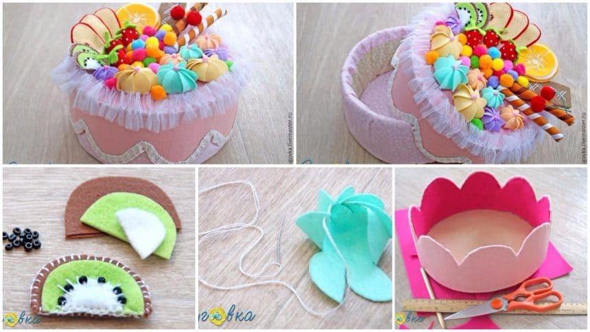 How to make cake box