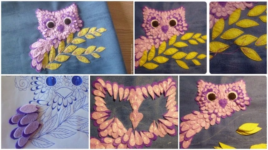 How to do applique from fabric