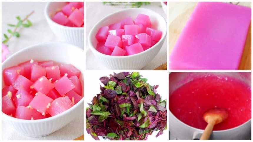 Make rose jelly without colour