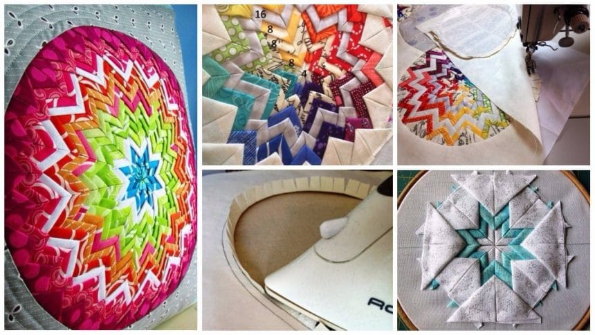 How to make somerset star pillows