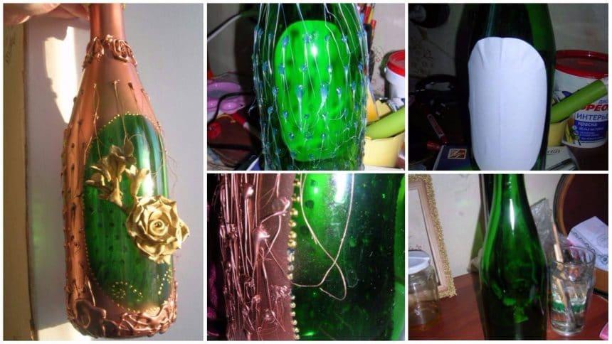 How to make bottle vase