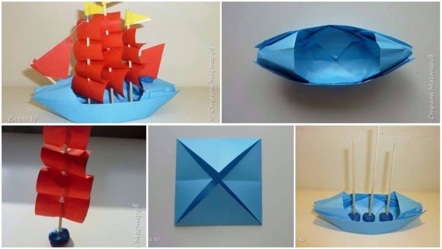 How to make sailing ship