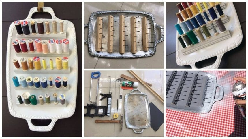 How to make thread organizer