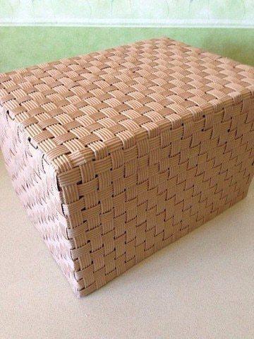cardboard box made of cardboard