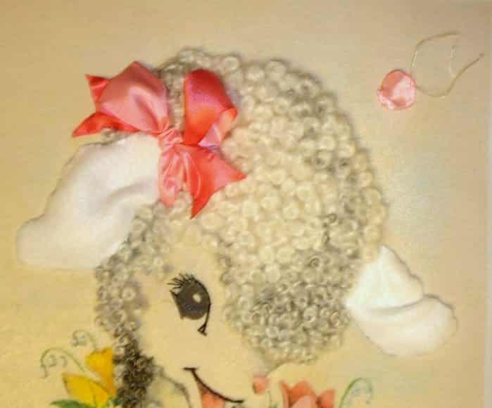 simply cheerful lamb
