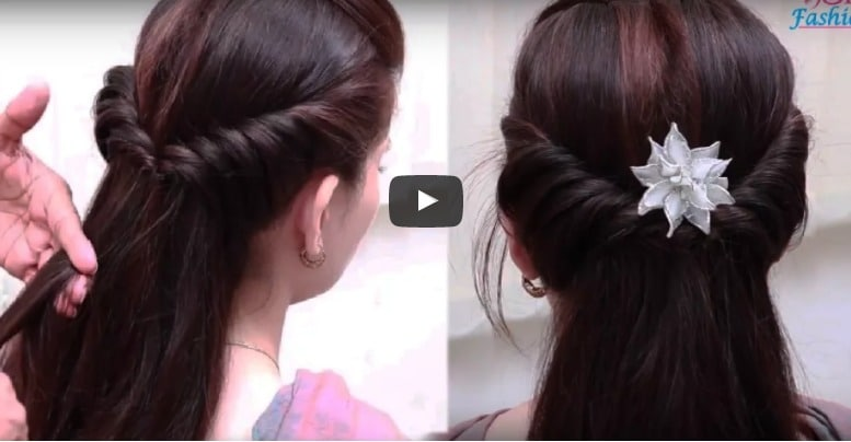 Easy hair style for long hair