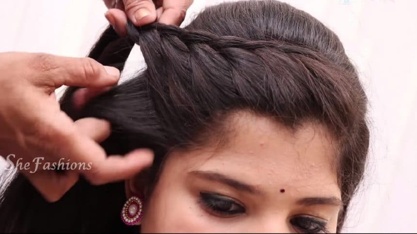 Easy Hair Style For Long Hair Simple Craft Ideas
